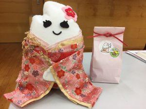 生徒達が作り上げたキャラクター「米子姫」