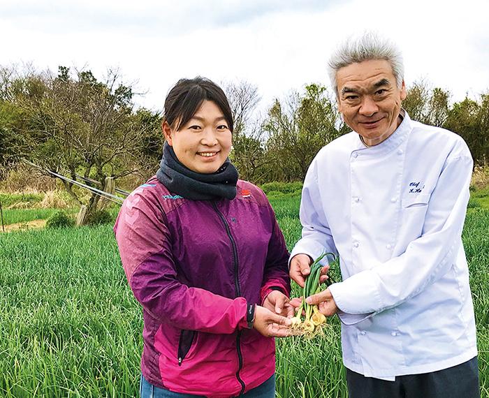 愛知県 知多市 「ペコロス農園」 近藤 由佳さん (ペコロス提供)